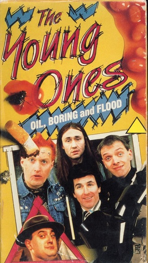 """""""The Young Ones"""" - British VHS movie cover (thumbnail)"""