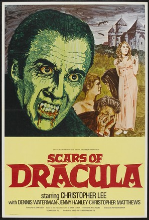 Scars of Dracula - Movie Poster (thumbnail)