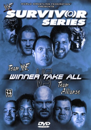 WWF Survivor Series - DVD movie cover (thumbnail)