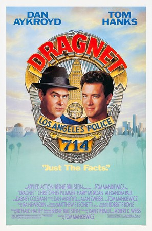 Dragnet - Movie Poster (thumbnail)
