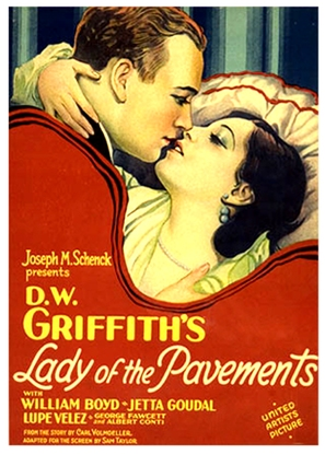 Lady of the Pavements - Movie Poster (thumbnail)