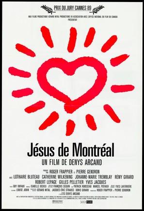 Jésus de Montréal - Canadian Movie Poster (thumbnail)