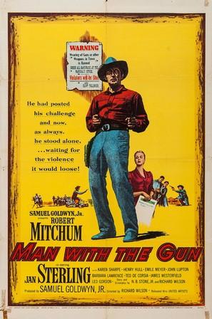 Man with the Gun - Movie Poster (thumbnail)