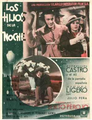 Los hijos de la noche - Spanish Theatrical poster (thumbnail)