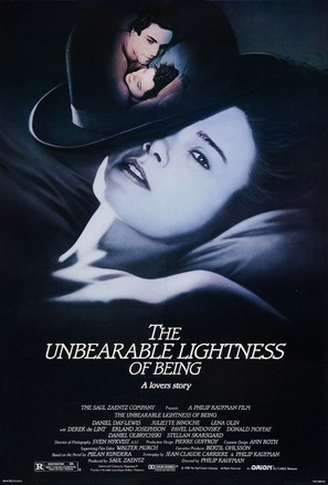 The Unbearable Lightness of Being - Movie Poster (thumbnail)