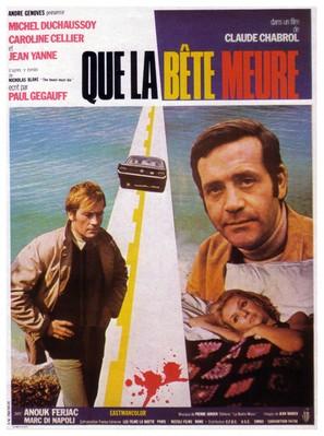 Que la bête meure - French Movie Poster (thumbnail)