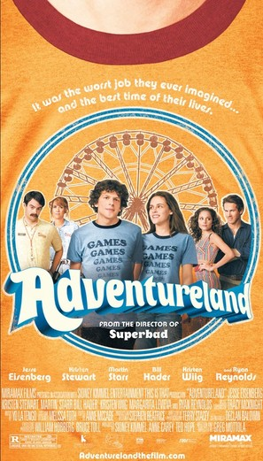 Adventureland - Movie Poster (thumbnail)