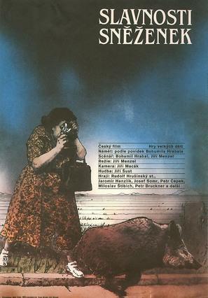 Slavnosti snezenek - Czech Movie Poster (thumbnail)