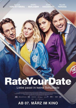 Rate Your Date - German Movie Poster (thumbnail)