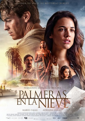 Palmeras en la nieve - Spanish Movie Poster (thumbnail)