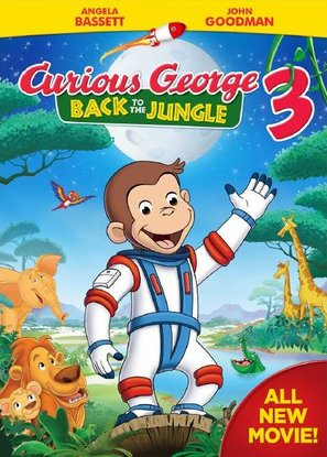 Curious George 3: Back to the Jungle - DVD movie cover (thumbnail)