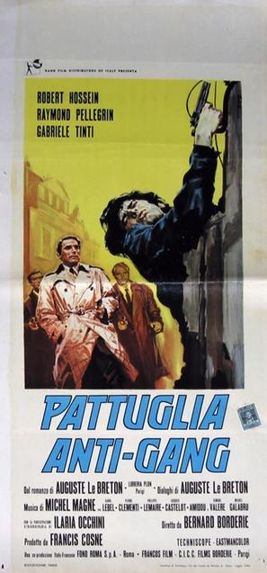 Brigade antigangs - Italian Movie Poster (thumbnail)