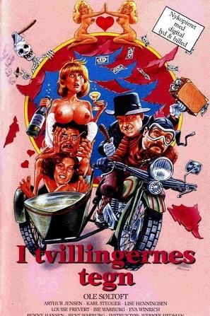 I Tvillingernes tegn - Danish Movie Poster (thumbnail)