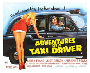 Adventures of a Taxi Driver - British Movie Poster (thumbnail)