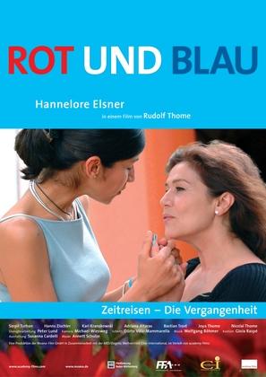 Rot und blau - German Movie Poster (thumbnail)