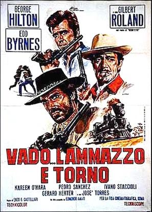 Vado... l'ammazzo e torno - Italian Movie Poster (thumbnail)