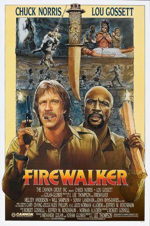 Firewalker - Movie Poster (thumbnail)