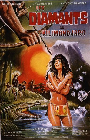 El tesoro de la diosa blanca - French Movie Poster (thumbnail)