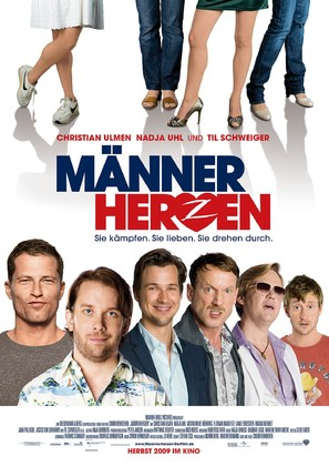 Männerherzen - German Movie Poster (thumbnail)