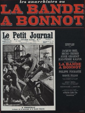 La bande à Bonnot - French Movie Poster (thumbnail)
