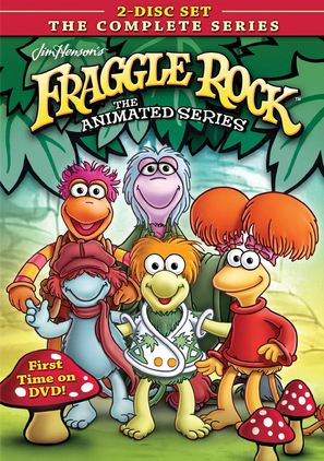 """Fraggle Rock"" - DVD movie cover (thumbnail)"