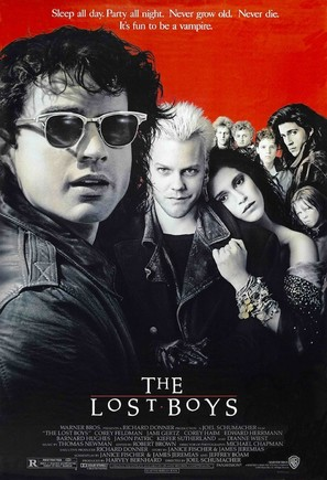 The Lost Boys - Theatrical movie poster (thumbnail)