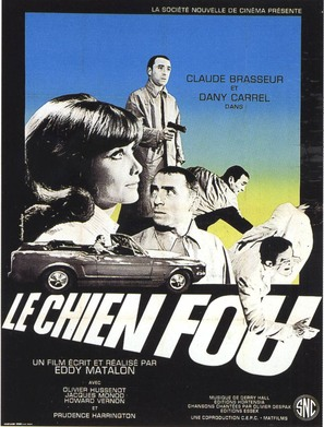 Le chien fou - French Movie Poster (thumbnail)