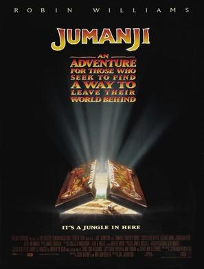 Jumanji - Movie Poster (thumbnail)