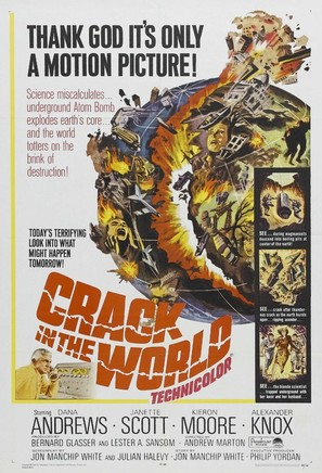 Crack in the World - Movie Poster (thumbnail)