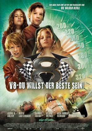 V8 - Du willst der Beste sein - German Movie Poster (thumbnail)