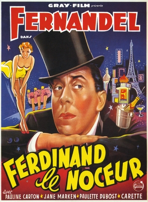 Ferdinand le noceur - French Movie Poster (thumbnail)