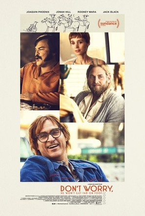 Don't Worry, He Won't Get Far on Foot - Movie Poster (thumbnail)