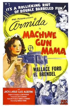 Machine Gun Mama - Movie Poster (thumbnail)