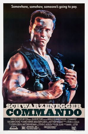 Commando - Movie Poster (thumbnail)