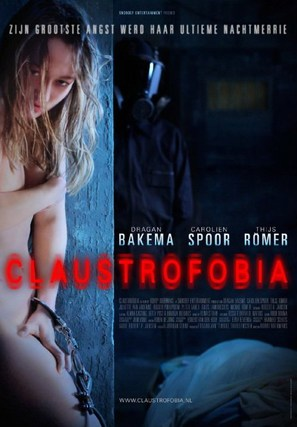 Claustrofobia - Dutch Movie Poster (thumbnail)