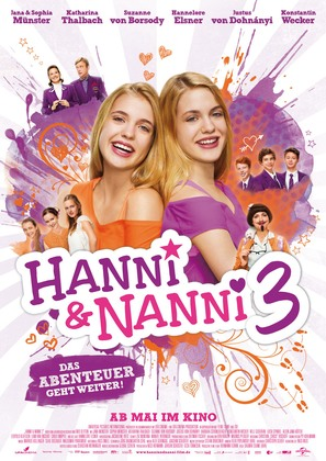 Hanni & Nanni 3 - German Movie Poster (thumbnail)