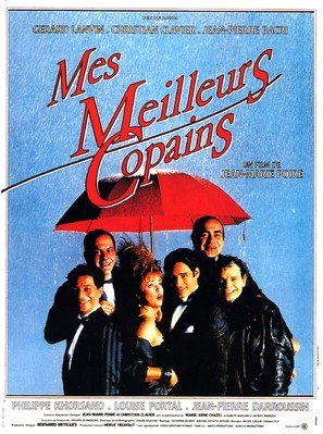 Mes meilleurs copains - French Movie Poster (thumbnail)