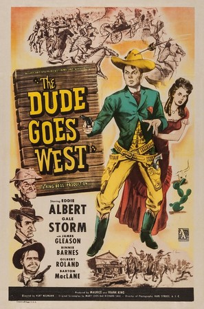 The Dude Goes West - Movie Poster (thumbnail)