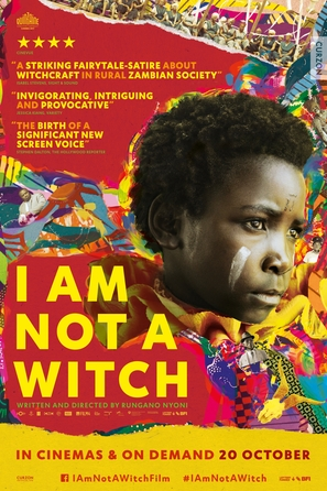 I Am Not a Witch - British Movie Poster (thumbnail)