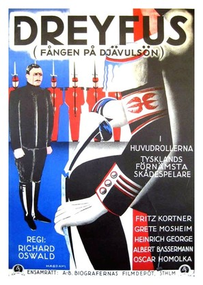 Dreyfus - Swedish Movie Poster (thumbnail)
