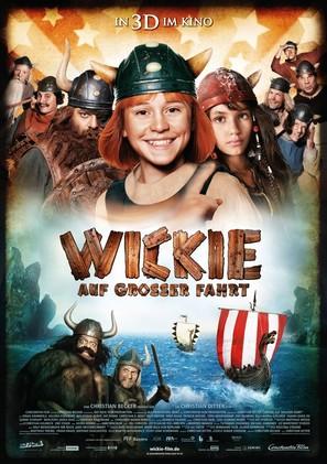 Wickie auf großer Fahrt - German Movie Poster (thumbnail)