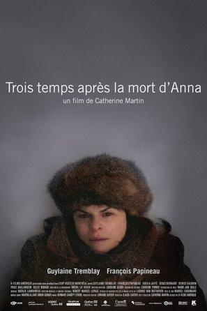 Trois temps après la mort d'Anna - Canadian Movie Poster (thumbnail)