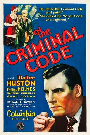 The Criminal Code - Movie Poster (thumbnail)