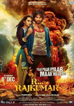 R... Rajkumar - Indian Movie Poster (thumbnail)