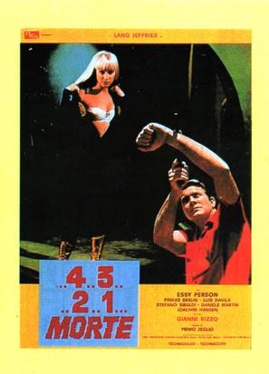 ...4 ...3 ...2 ...1 ...morte - Italian Movie Poster (thumbnail)