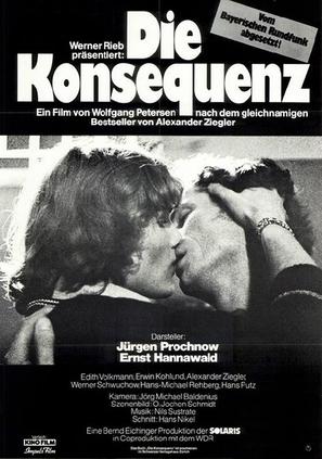 Die Konsequenz - German Movie Poster (thumbnail)