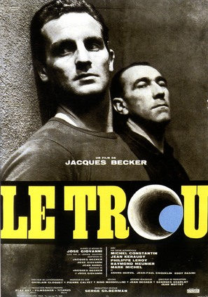 Le trou - French Movie Poster (thumbnail)
