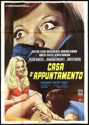 Casa d'appuntamento - Italian Movie Poster (thumbnail)