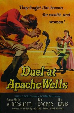 Duel at Apache Wells - Movie Poster (thumbnail)