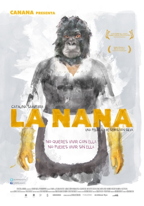 La nana - Mexican Movie Poster (thumbnail)